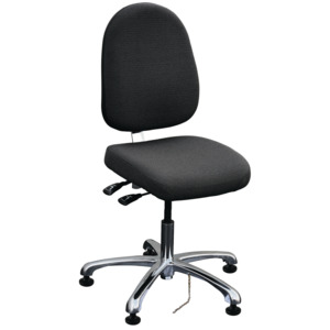 Bevco Chair Ergonomic 9000 Series Adj. 18 in.-24 in. ESD Tilt
