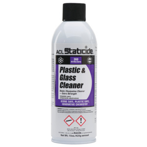 8670 Plastic & Glass Foaming, Cleaner, 14 oz. Can
