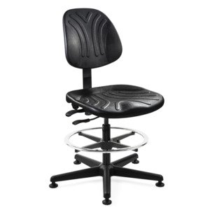 Bevco Chair, Durable Poly Adjustable 19 in.-26 in., Tilt, MG