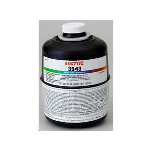 Loctite 3943 Light Cure Adhesive, 1 Liter Bottle