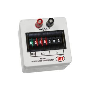 IET Labs Decade Box Res. RS- 201 Substituter 7 Ranges