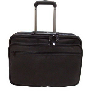 Tec-Tuff Tool Case, Soft Side, Wheels, No Pallets, Black