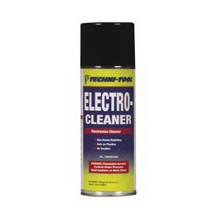 Techni-Tool Electro-Cleaner, No Residue, 10 oz. Aerosol