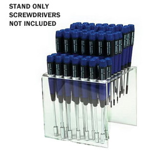 Techni-Tool Clear Bench Stand for 57 Precison Screwdrivers