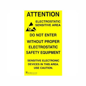 Techni-Stat Poster ESD Awareness 11 x 17 in. 5/Pk