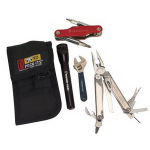 Techni-Tool Technician's Survival Kit - 29 tools, Pouch
