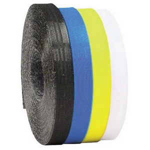 Rip-Tie Tape Self-Griping RipWrap 1/2 x 8 in. Pcs. Black