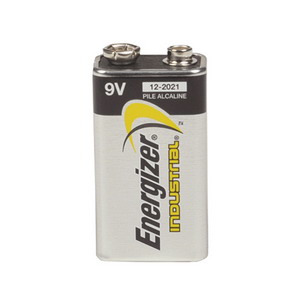 Energizer Battery Alkaline Industrial 9V